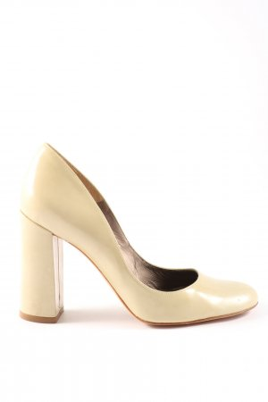 Pura Lopez High Heels creme Elegant