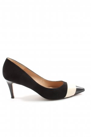 Pura Lopez High Heels schwarz-weiß Elegant
