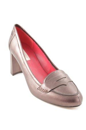 Pura Lopez High Heels graubraun