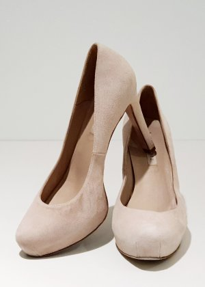 Pura Lopez High Heels / Pumps / 100% Veloursleder / Leder / Klassische / Business Schuhe
