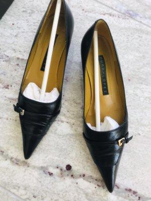 Pura Lopez Leder Schuhe/Pumps Größe 36,5