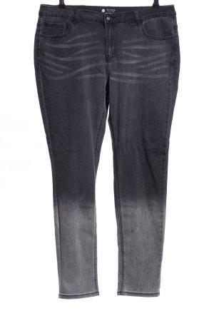 Jeans skinny nero-grigio chiaro stile casual