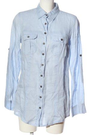 pure linen Langarmhemd