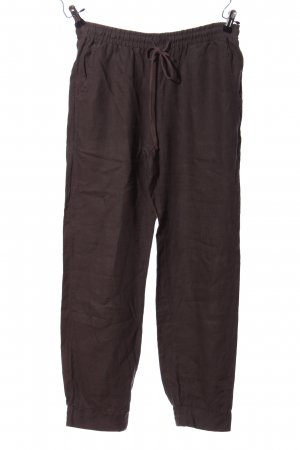 pure linen Stoffhose braun Casual-Look
