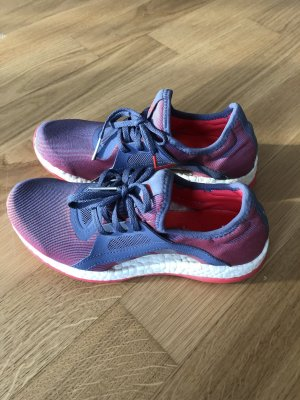 Adidas Basket à lacet bleu violet-rose