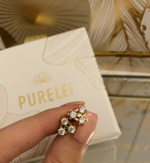 Purelei Ear stud gold-colored