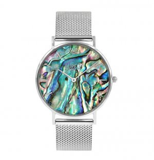 Purelei Watch With Metal Strap multicolored