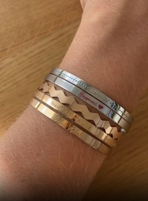 Purelei Armbänder Bangle rosé gold silber
