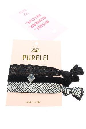 Purelei Armband schwarz-weiß grafisches Muster Casual-Look