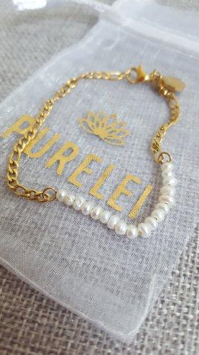 Purelei Braccialetto sottile oro Metallo