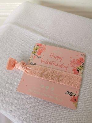 Purelei Armband/Haargummi Valentine's Day Edition rosa Love NEU
