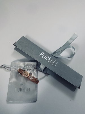 Purelei Armband (Mesh), inkl. 3 Charms, Roségold