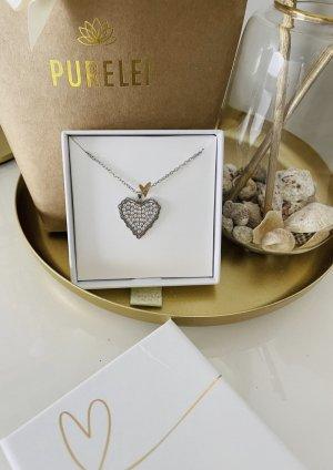 Purelei Necklace silver-colored