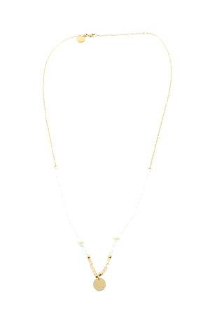 Purelei Naszyjnik złoto-biały Styl klasyczny