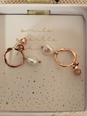 Purelei Ear Hoops gold-colored