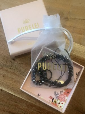 Purelei Anklet black-gold-colored