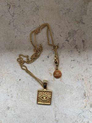 Purelei Złoty łańcuch złoto-piaskowy brąz