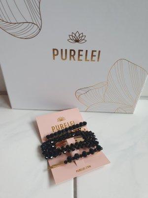 Purelei Hair Clips in Schwarz