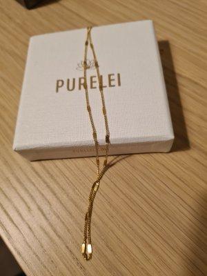 Purelei Necklace sand brown mixture fibre