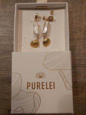 Purelei Kapakai Ohrringe Gold