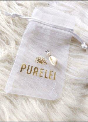 Purelei Naszyjnik z muszelek srebrny