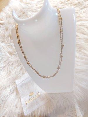 Purelei Collier de perles doré