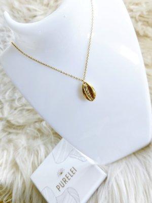 Purelei Collier de coquillages doré