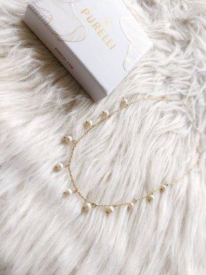 purelei kette Gold neu Perlen