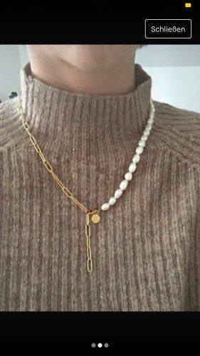 Purelei Pearl Necklace gold-colored