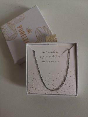 Purelei Necklace silver-colored-light grey