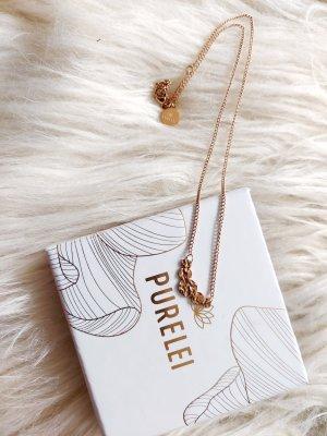 Purelei Złoty łańcuch w kolorze różowego złota
