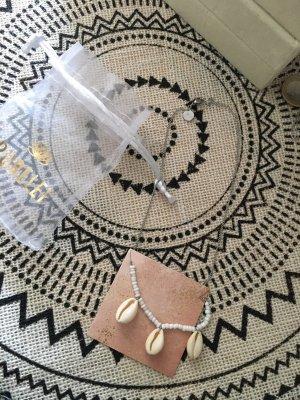 Purelei Shell Necklace silver-colored