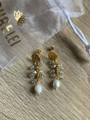 Purelei Pearl Earring gold-colored