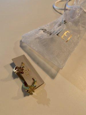 Purelei Pendientes de oro color oro