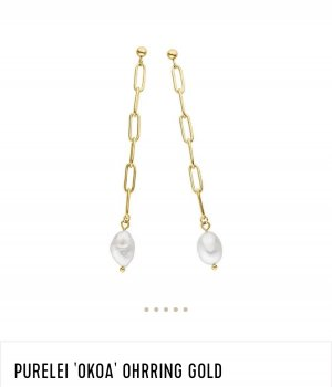 Purelei Gold Earring gold-colored