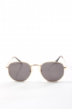 Purelei Round Sunglasses gold-colored casual look