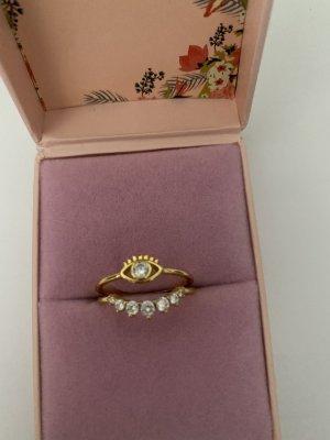 Purelei Ring Auge Gold 56