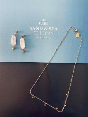 Purelei Schmuckset Sand & Sea Edition Gold Neu