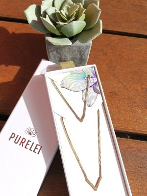 Purelei Set Kette & Armband Gold Spring-Collection