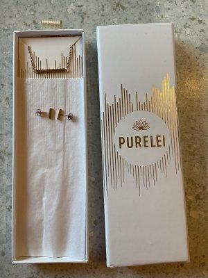 PURELEI Set Kette und Ohrringe