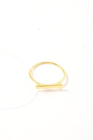 Purelei Statementring goldfarben Business-Look