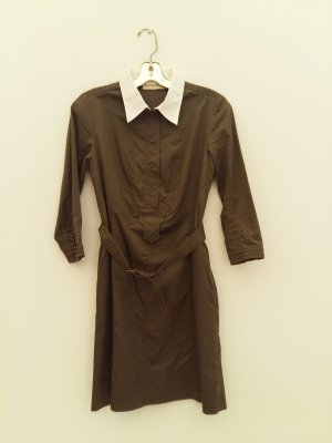 Purificacion Garcia Coat Dress olive green
