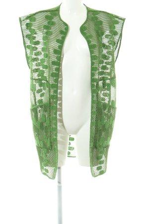 Purificacion Garcia Longstrickweste grün Elegant