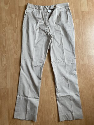 Garcia Pleated Trousers silver-colored