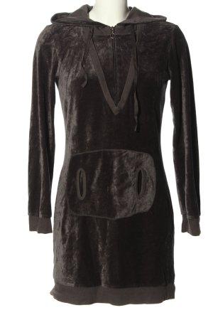 Puriti Abito maglione nero stile casual
