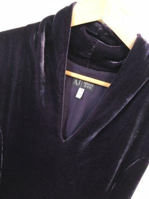Armani Jeans Midi Dress dark violet
