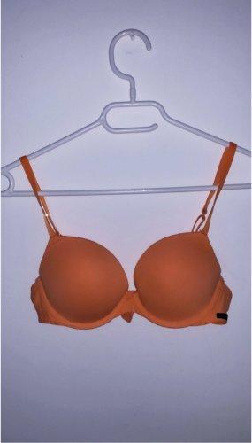 Push up bh orange unterwäsche dessous lingerie