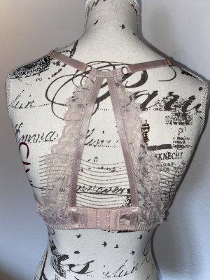 Push-up BH rosa mit Rückendetail