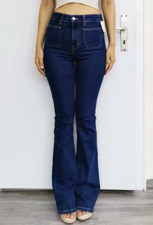 Pull & Bear High Waist Jeans multicolored