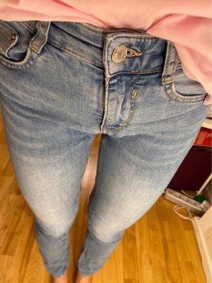Pull & Bear Jeans skinny bleu
